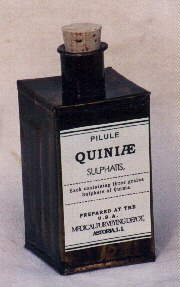 Quinine was now commonly used for both medical and non-medical purposes