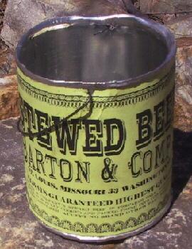 Civil War Canned Food